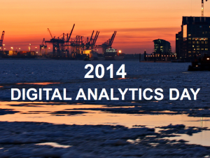 Digital Analytics Day 2014